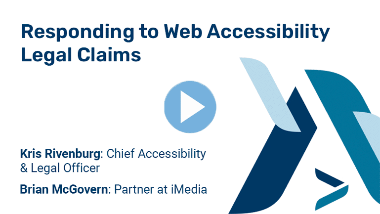 Navigating Web Accessibility Legal Claims